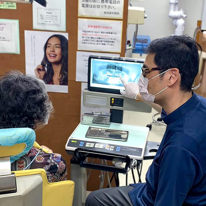 前田歯科医院の治療方針その1