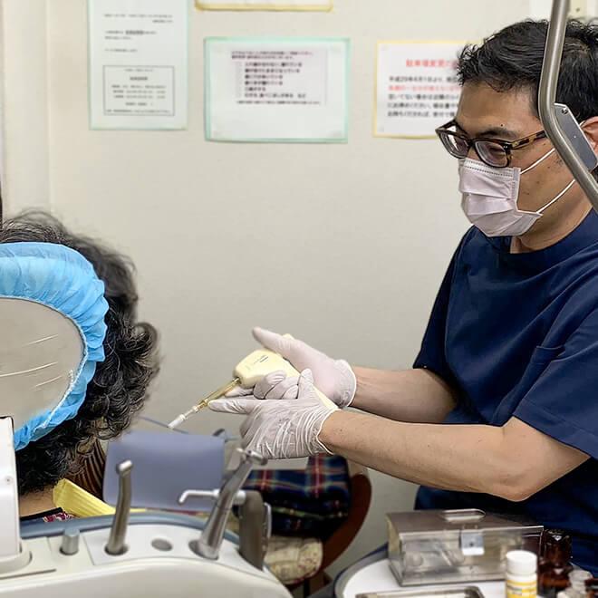 前田歯科医院の治療方針その3